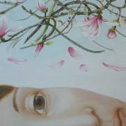 """Détail : """"Je suis magnolia """""""