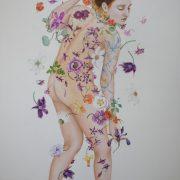 fougue printanière- 148 x 108 cm