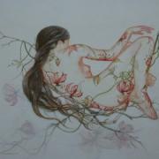 """"""" Un nid sur une branche """" Sold"""