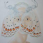 """"""" Coiffe d'Elsa """" 122 x 104 cm"""