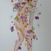 """"""" Fougue printanière """" 148 x 108 cm"""
