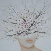 "Detail "" Ramillons fleuris "" Sold"